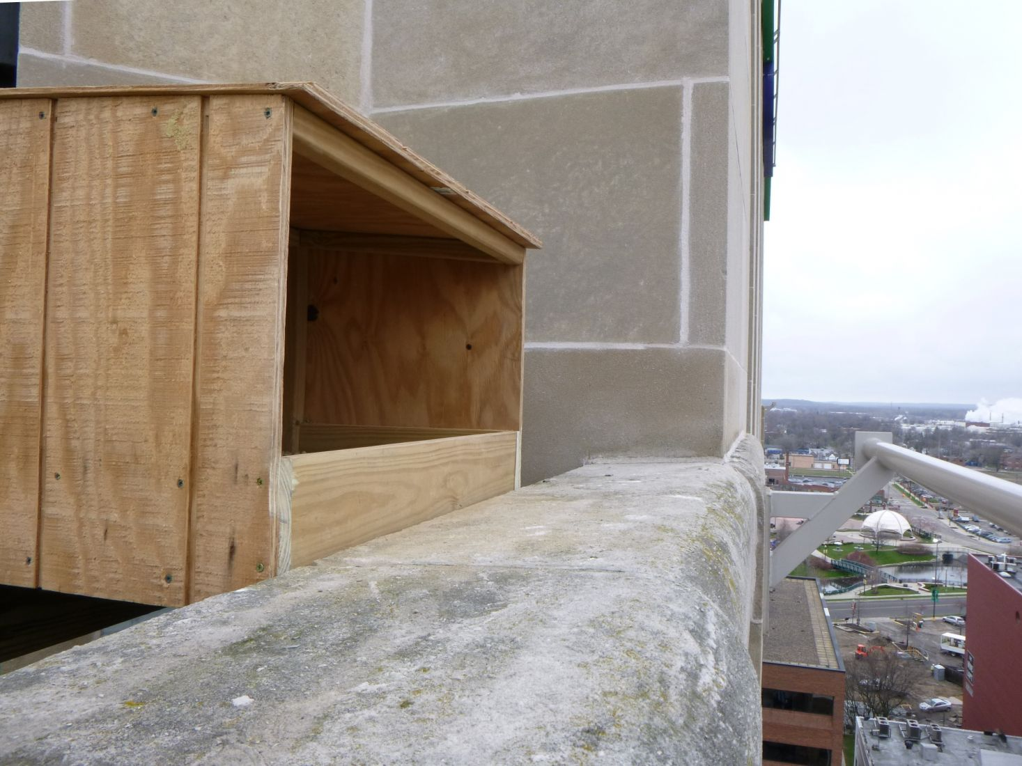 Peregrine Falcon Nest Box Installation