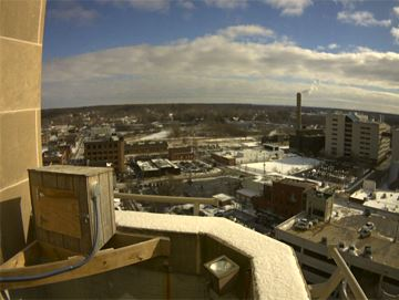 Kalamazoo View from Peregrine Falcons